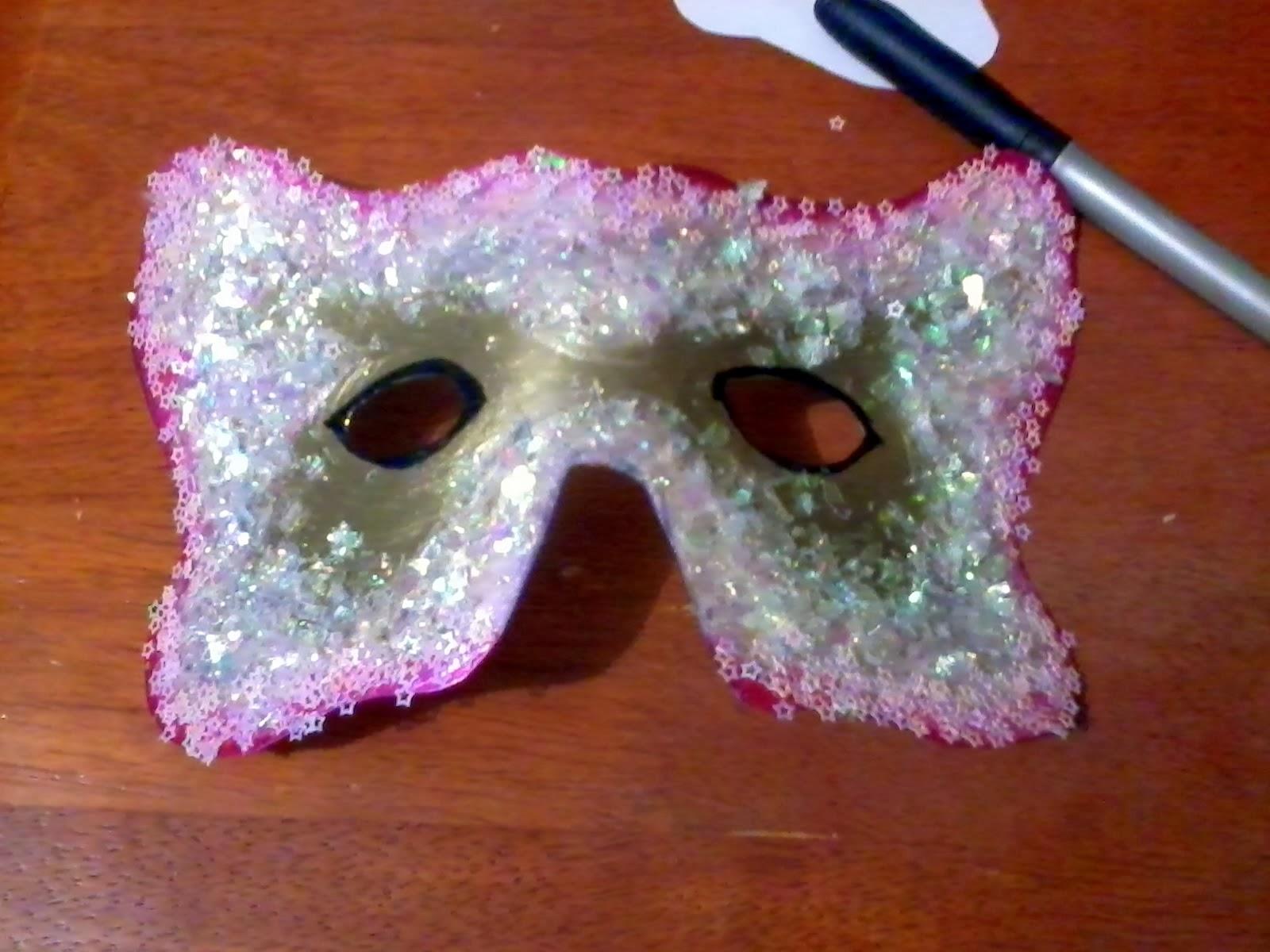Mascara de carnaval              El detalle que hace