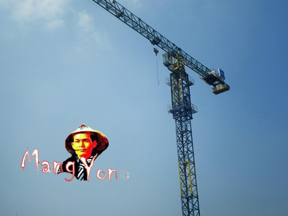 Tower Crane Berdiri kokoh
