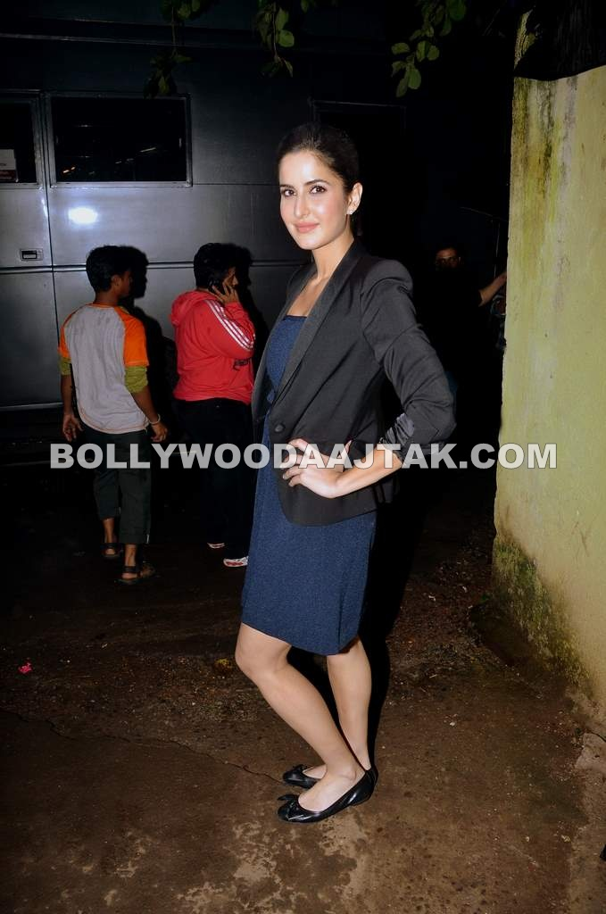 Katrina Kaif  - Katrina Kaif on the sets of Comedy Circus