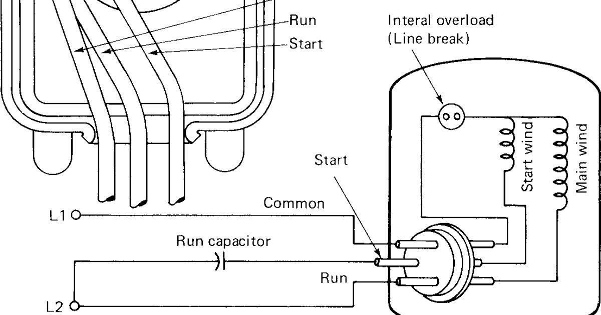 capacitor start motor basics and tutorials