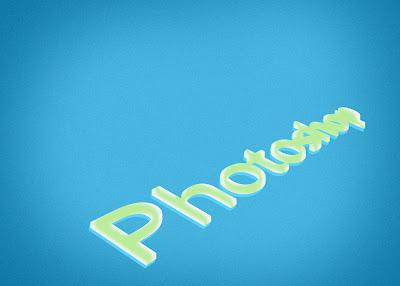Membuat Tulisan 3D Dengan Photoshop 13