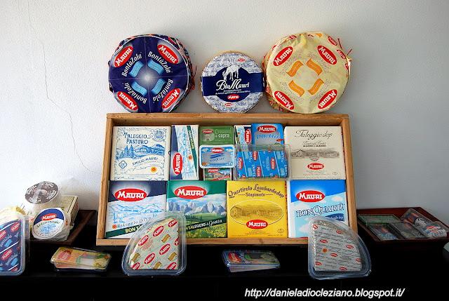 mauri  il piacere del   formaggio 100% italiano