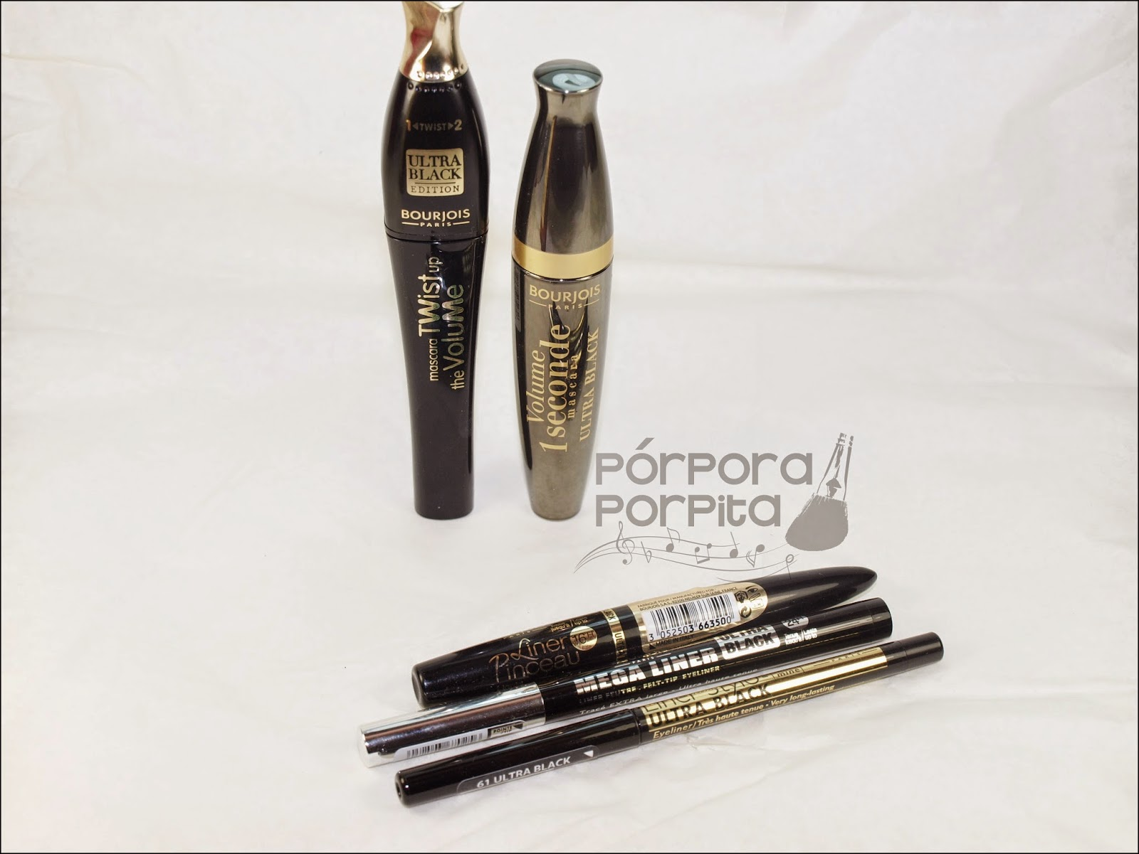 Coleccin Ultra Black De Bourjois Prpora Porpita Eyeliner Liner Stylo 61 Ha Sacado Cinco Productos Para Ojos Especialmente Formulados Con Pigmentos Negros Mucho Ms Intensos Que Habitualmente
