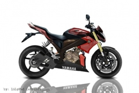 Gambar Modifikasi Motor Yamaha Vixion New Terbaru Merah Hati