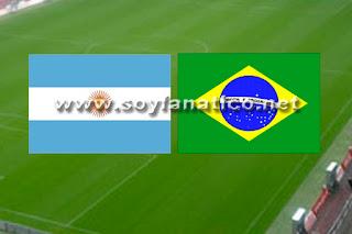 Clásico Argentina vs Brasil Eliminatorias 2015