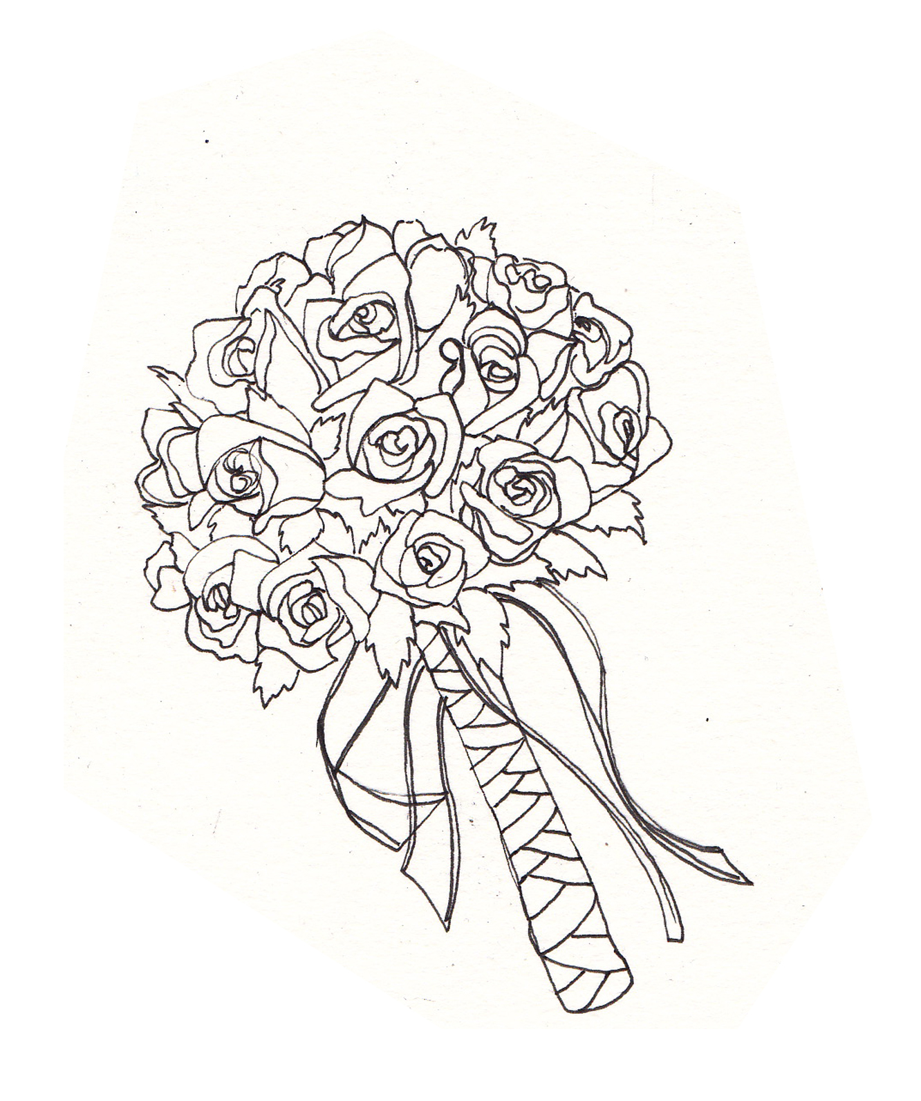 Wedding Flowers Drawings I Ve Been Drawing