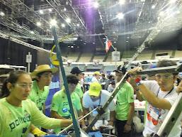 Participación en Campeonato Mundial de Robótica en California, Estados Unidos 2014