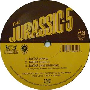 Jurassic 5 – Jayou / Without A Doubt (VLS) (1998) (FLAC + 320 kbps)