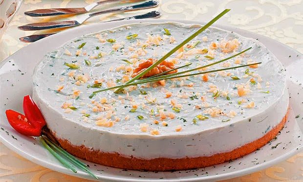 Cheesecake de gorgonzola light
