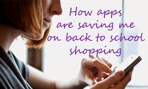 apps to save on school shopping
