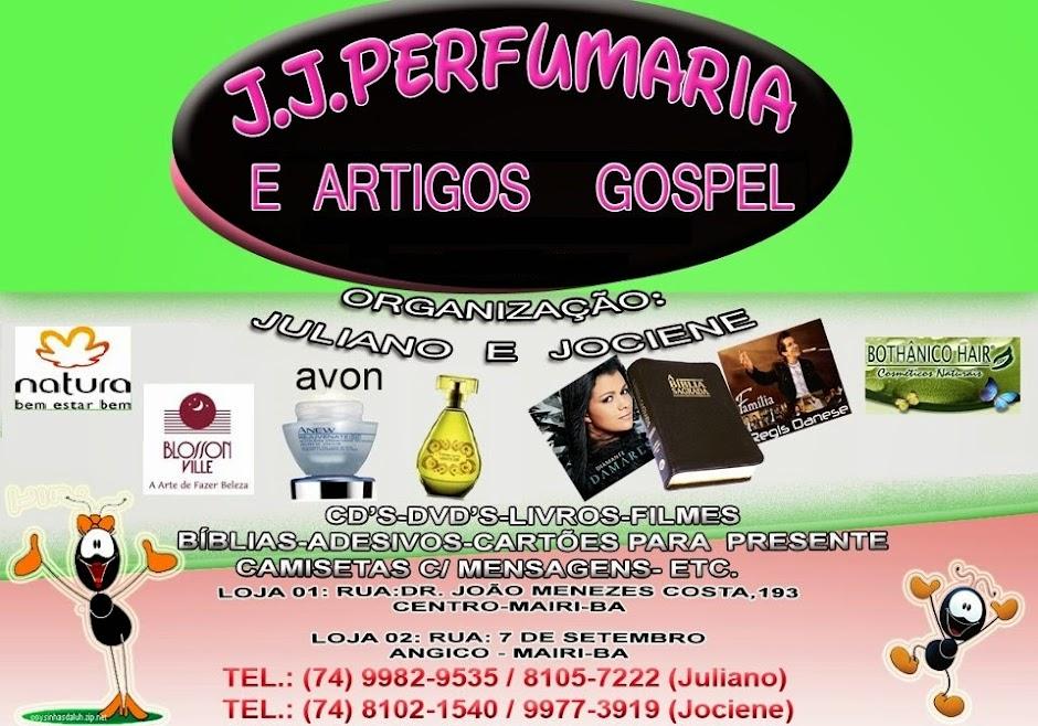 JJ Perfumaria e Artigos Gospel