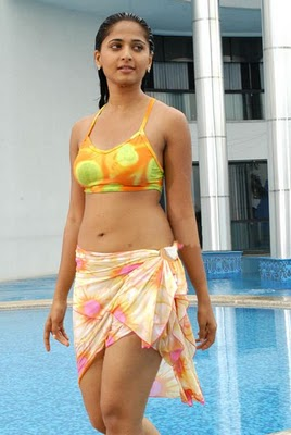 Anushka Hot Bikini Photos