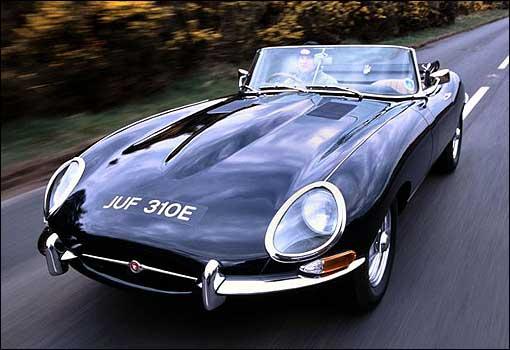 Kendall self drive  Jaguar E