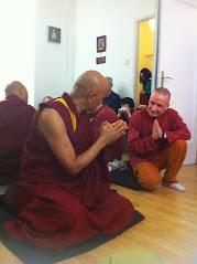 Con el lama Wangchen