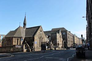 Our church building on Easter Road