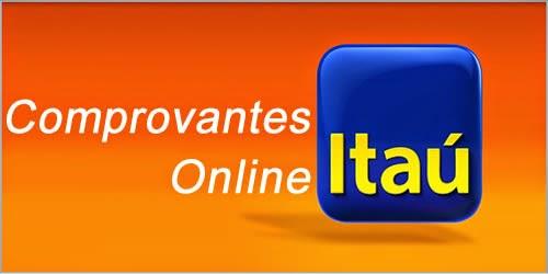 Itaú Comprovantes Online - Como Emitir, 2ª Via e Imprimir