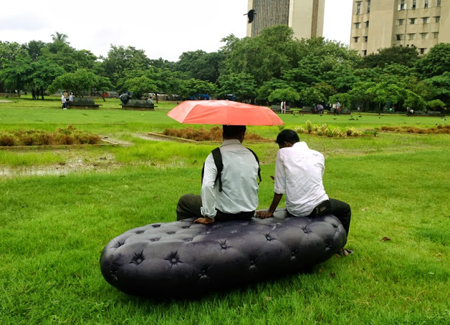 Blog bancos que parecen sof s y - Recoger agua de lluvia ...