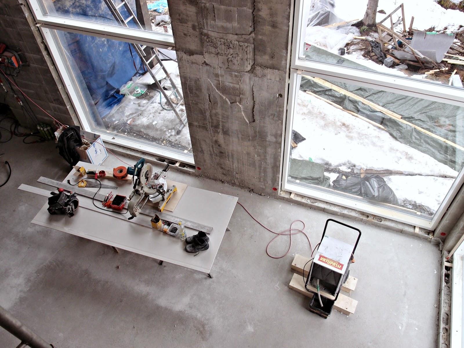 olohuone kivitalo ikkuna rakentaminen kivitalo