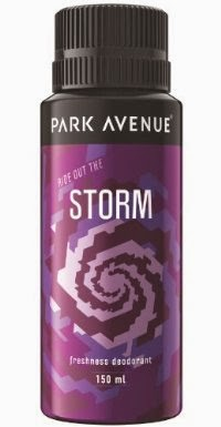 Park Avenue Storm Body Deodorant, 150ml worth Rs 190 @ Rs 118 at amazon in