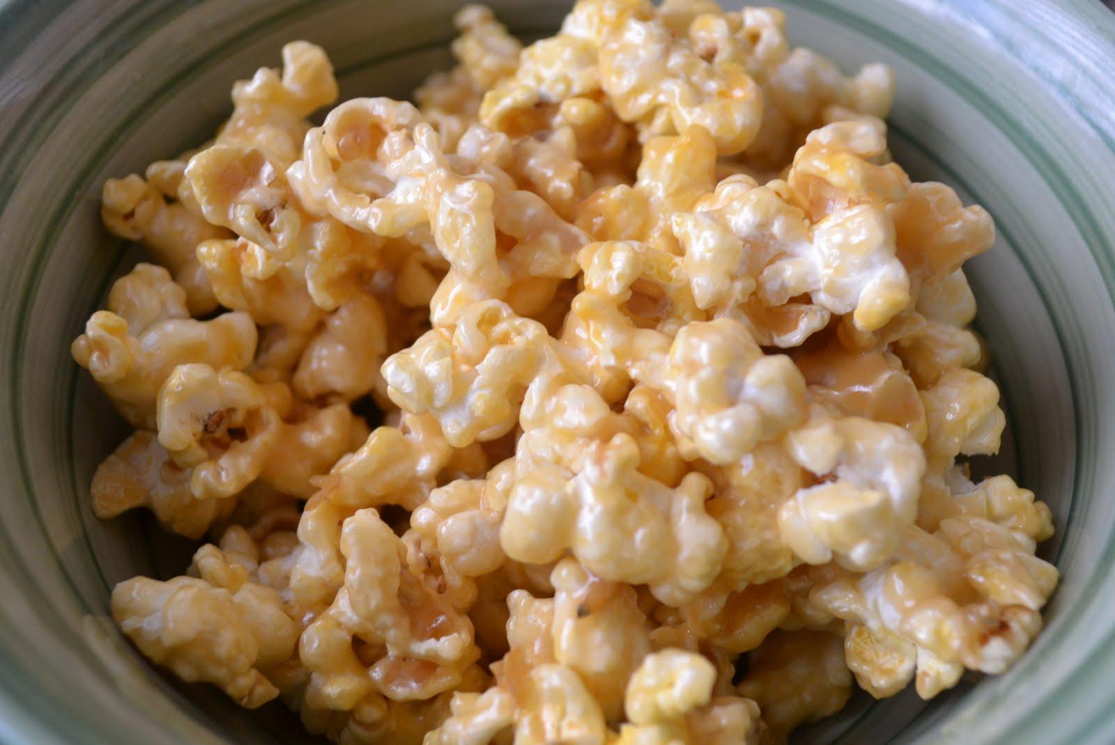 Miranda's Recipes: Caramel Popcorn