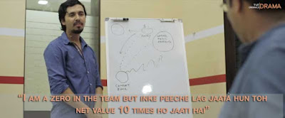 I AM A ZERO IN THE TEAM BUT INKE PEECHE LAG JAATA HUN TOH NET VALUE 10 TIIMES HO JAATI HAI TECHINERS
