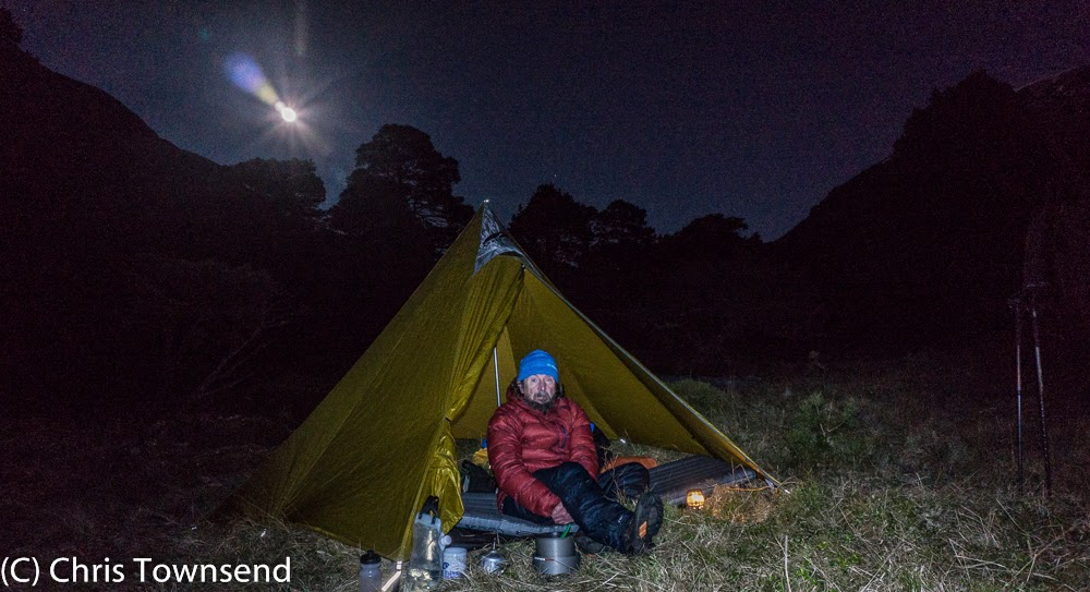 camping in the woods at night. Night In The Glen Feshie Woods Camping At P