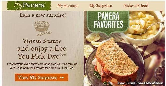 Panera bread coupon code january 2018