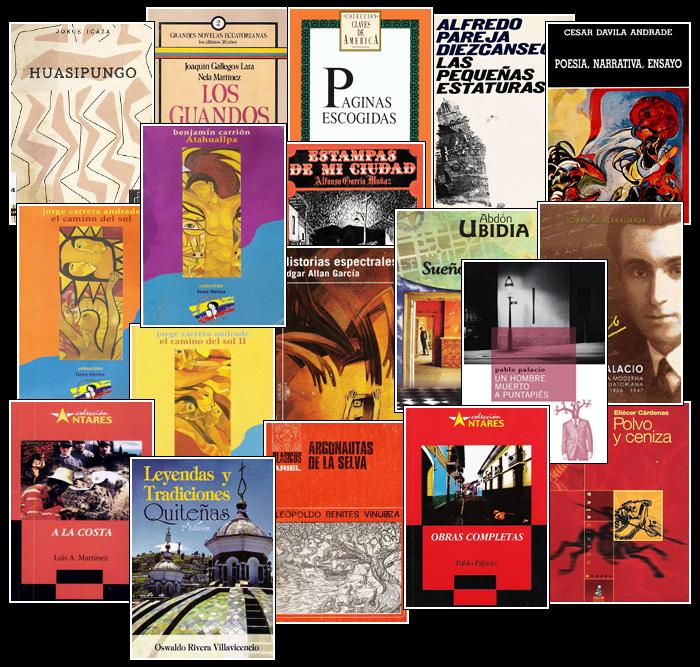 Libros ecuatorianos.