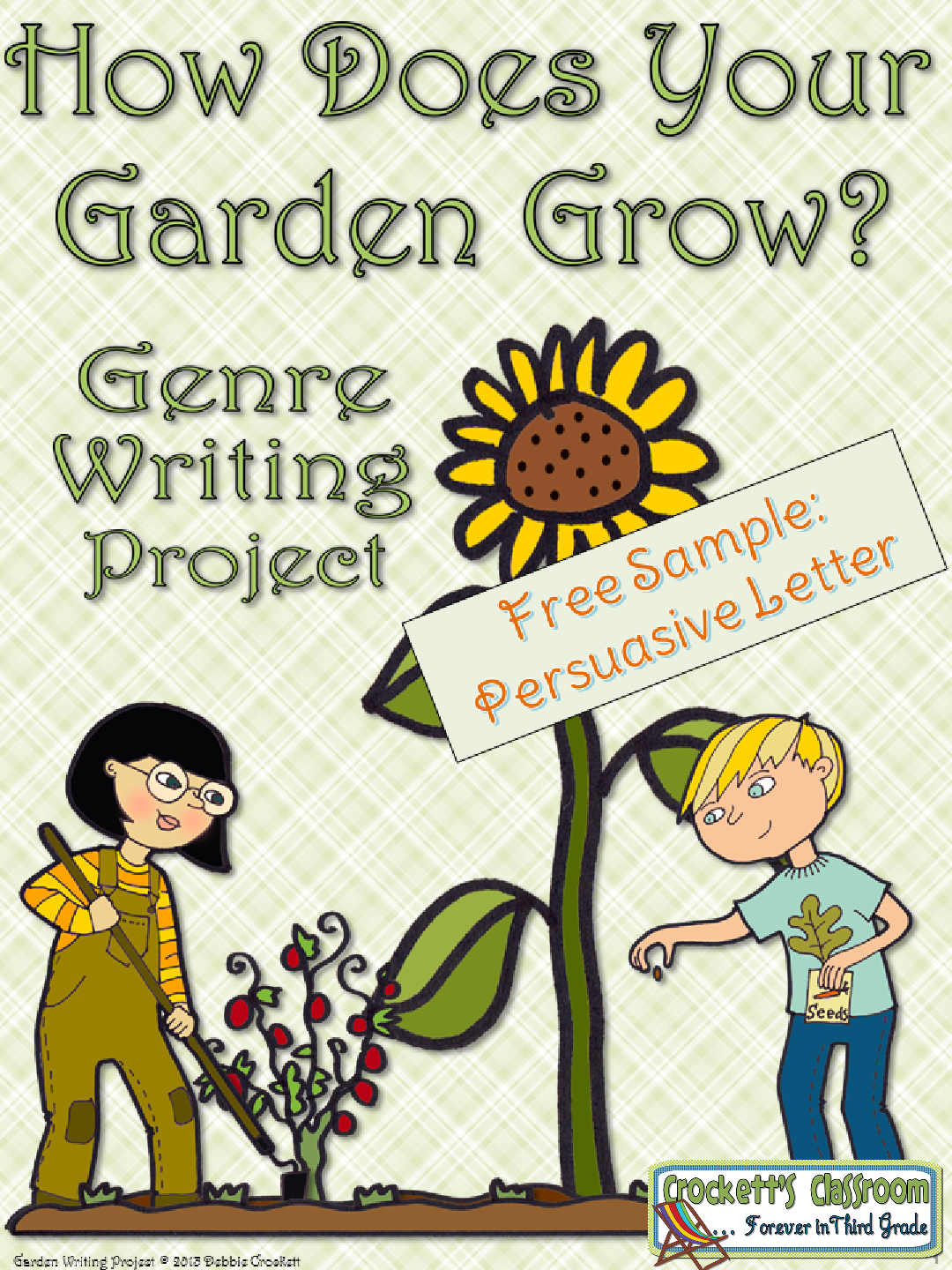 Spring Garden Writing Free Sample