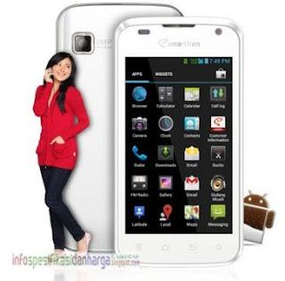 Harga SmartFren Andromax-i Ponsel terbaru 2012