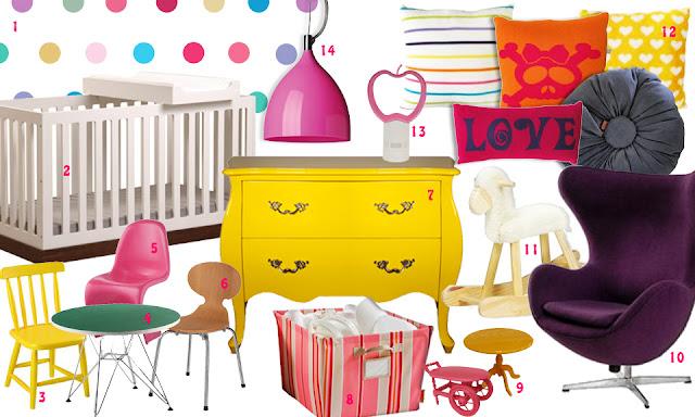 IT'S A GIRL: idéias para um quarto de bb descolado