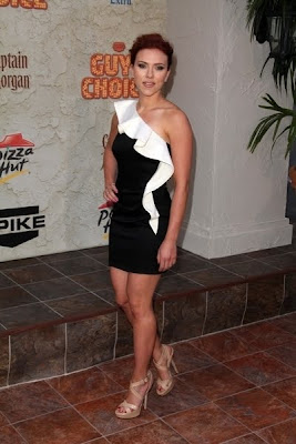 Scarlett Johannson Turns Up The Heat at Spike