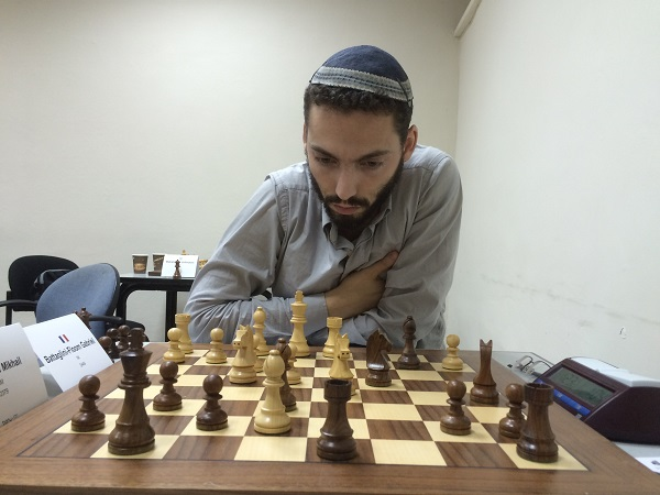 Le MI d'échecs Français Gabriel Battaglini - Photo © Chess & Strategy