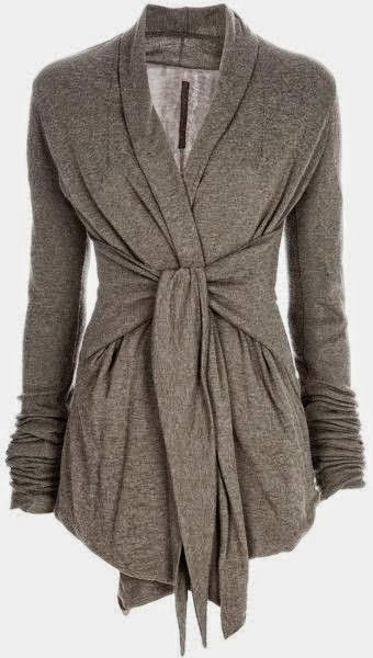 Gorgeous Gray Light Weight Wrap Up Cardigan