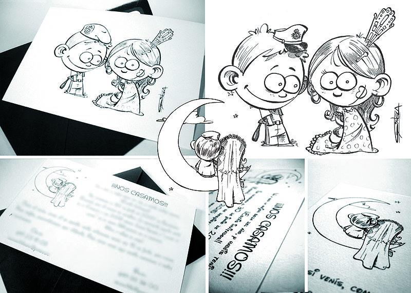 Pon un ilustrador en tu boda