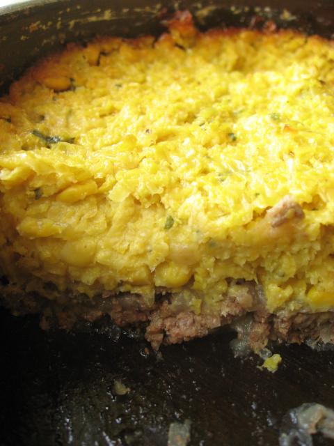 Delicious: Chilean corn pie (pastel de choclos)