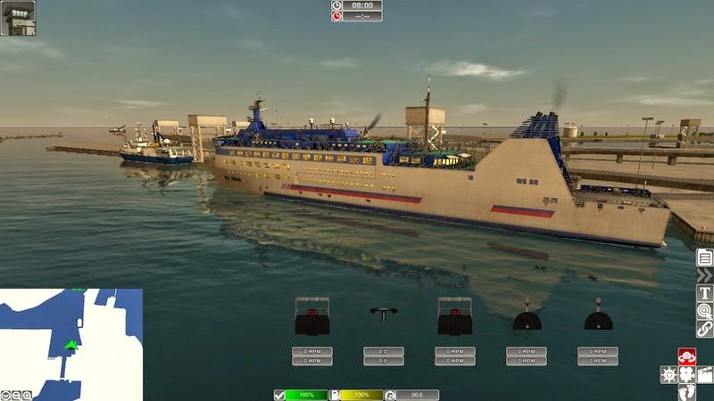 European Ship Simulator Multilenguaje
