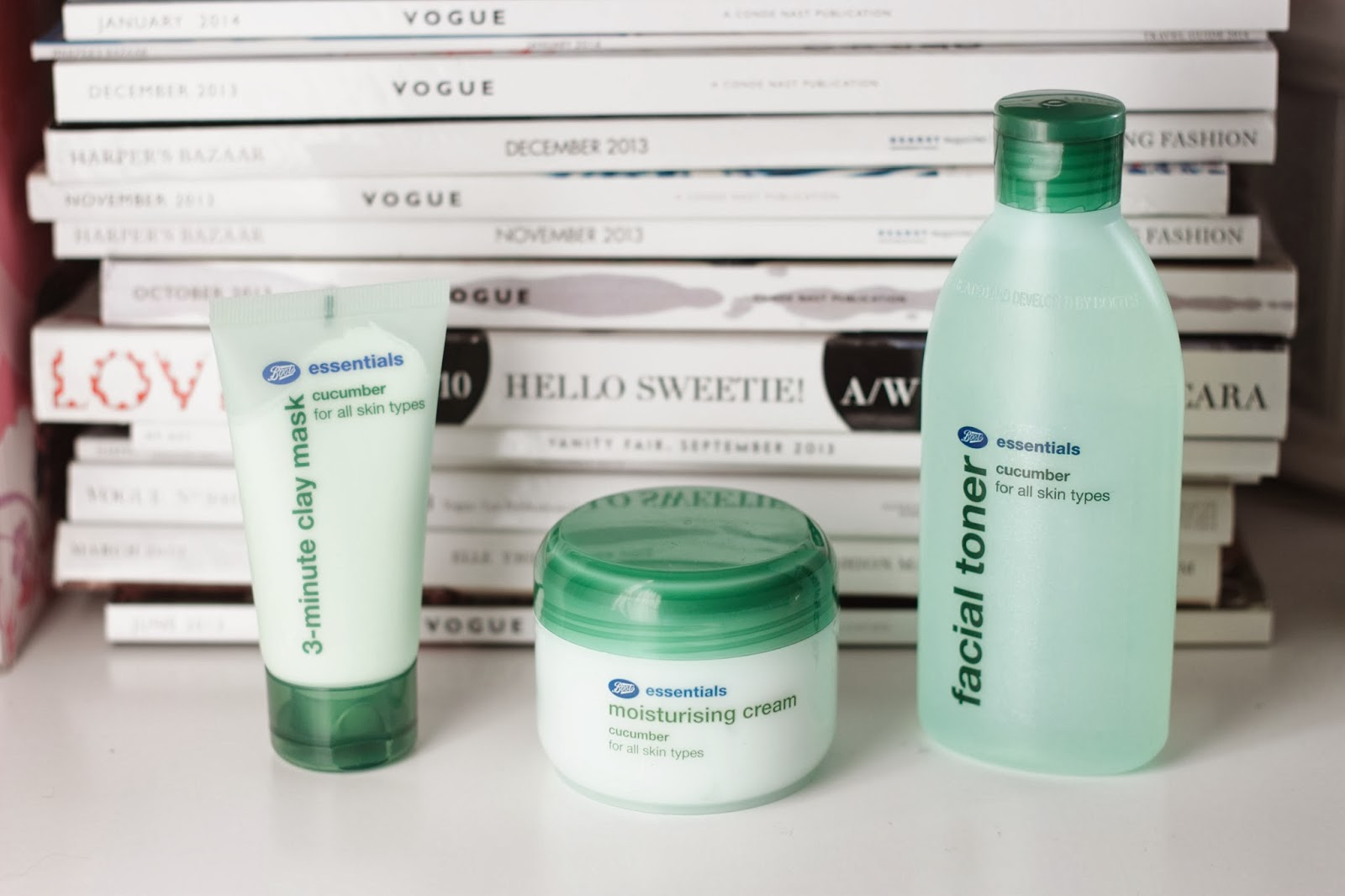 oh ruby skincare boots essentials cucumber range