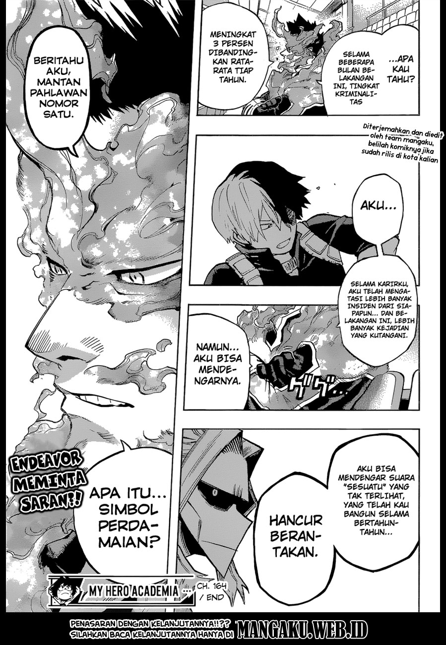 Boku no Hero Academia Chapter 164-17