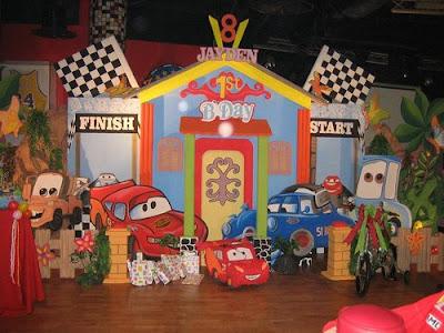 Dekor Birthday Party Cars