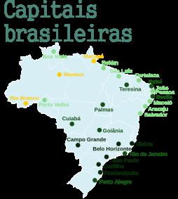 Projeto: Capitais brasileiras