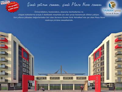 İzmir Bornova'da yatırıma uygun çok cazip satılık konut