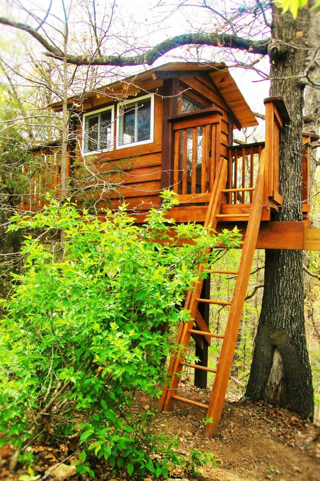 Natural State Treehouses Inc Dogwood Canyon Treehouse