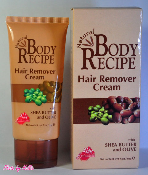 Random Beauty By Hollie Review Body Recipe Hair Remover
