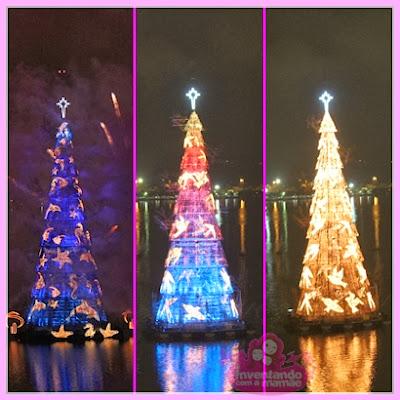 Inauguração da Árvore de Natal da Lagoa 2013