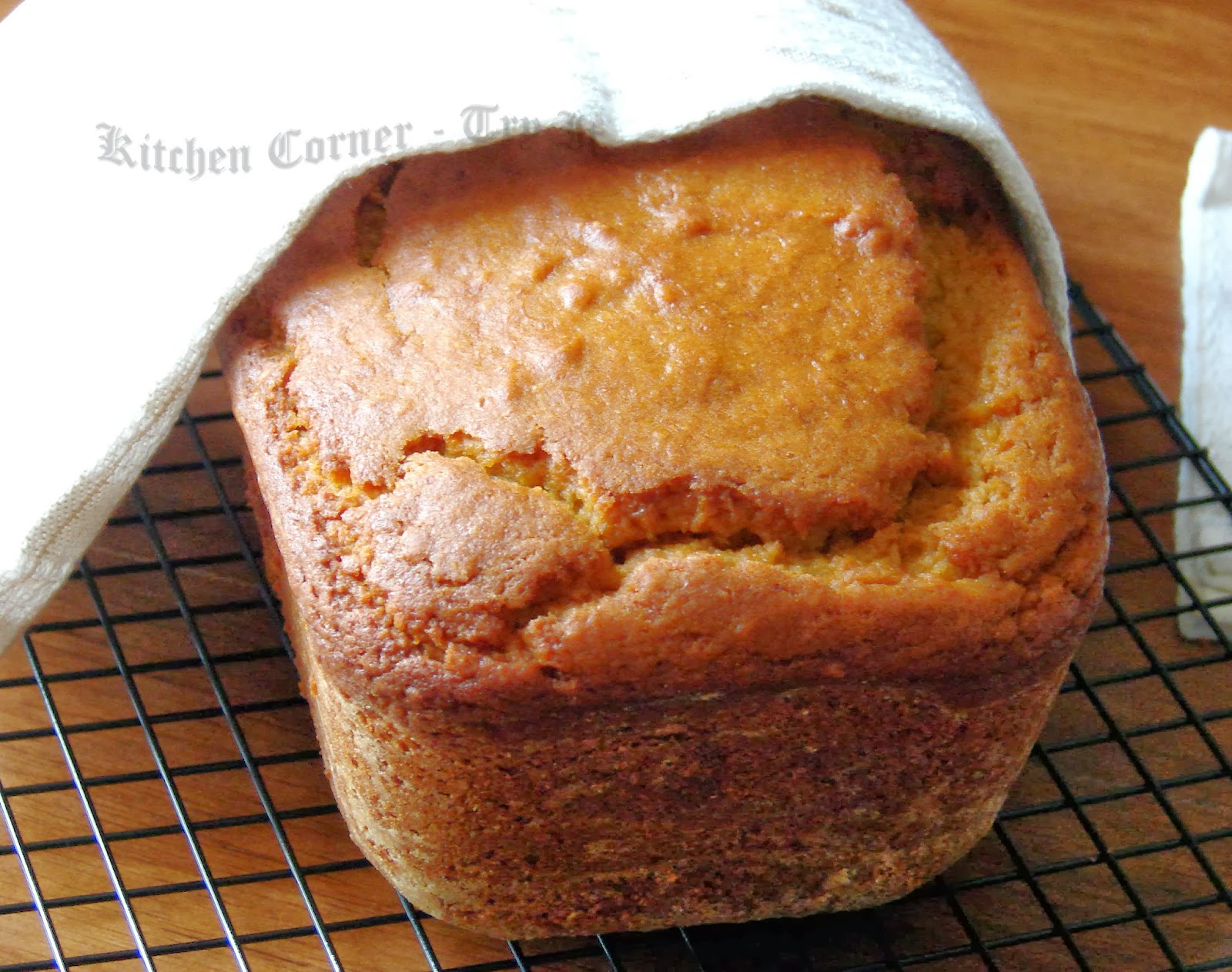 ... Corner-Try It: Ginger Pumpkin Bread with Maple Brown Butter Icing
