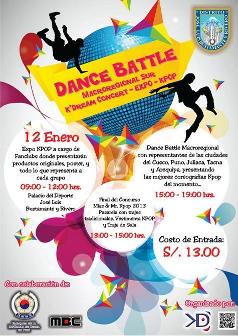EXPO K-POP : DANCE BATLE  (12 enero)