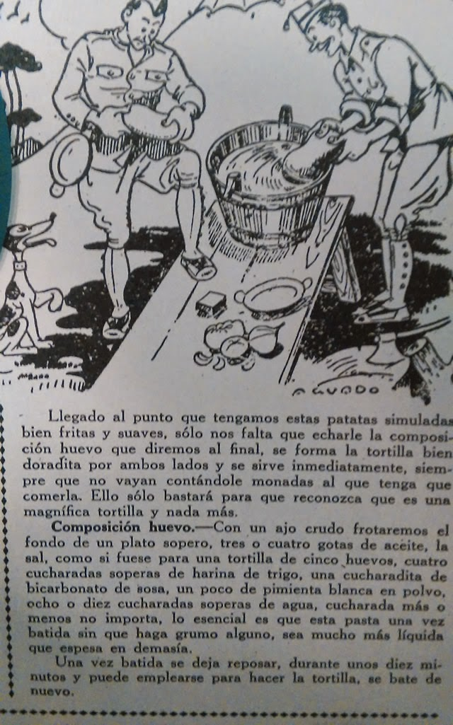 IGNASI DOMENEC - tortilla de guerra con patatas simuladas - 2