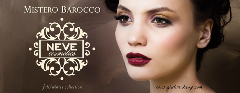 Preview: Mistero Barocco, nuova limited edition Neve Cosmetics