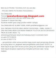 Mus Technologies Kerja Kosong Bulan Oktober